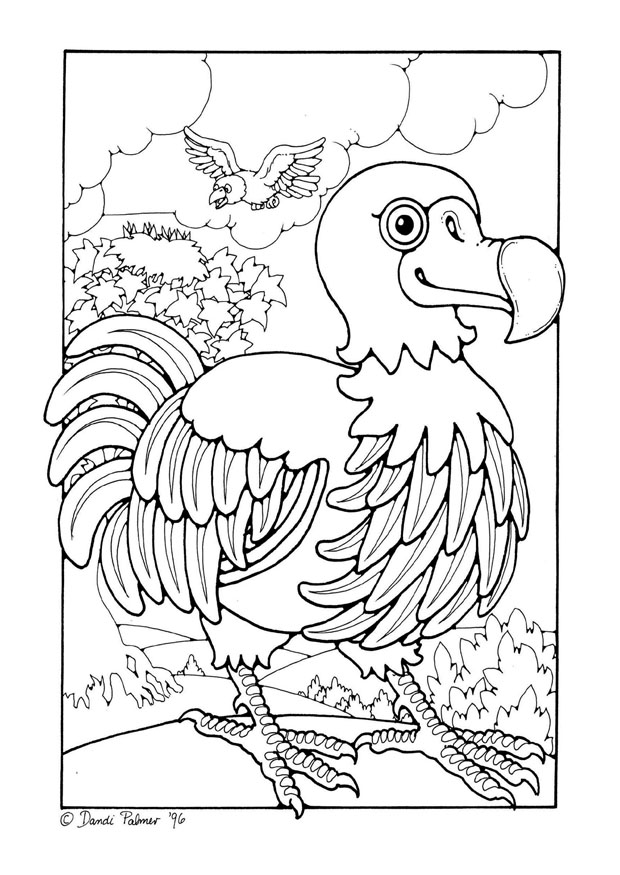 Dodo Bird Coloring Pages Coloring