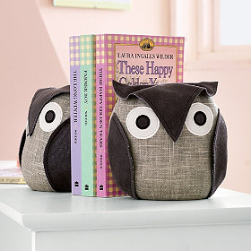 owl-bookends